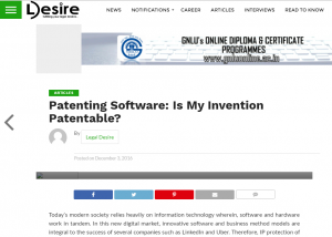 patenting-software