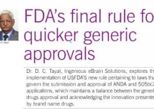 IEBS - FDA's Final rule