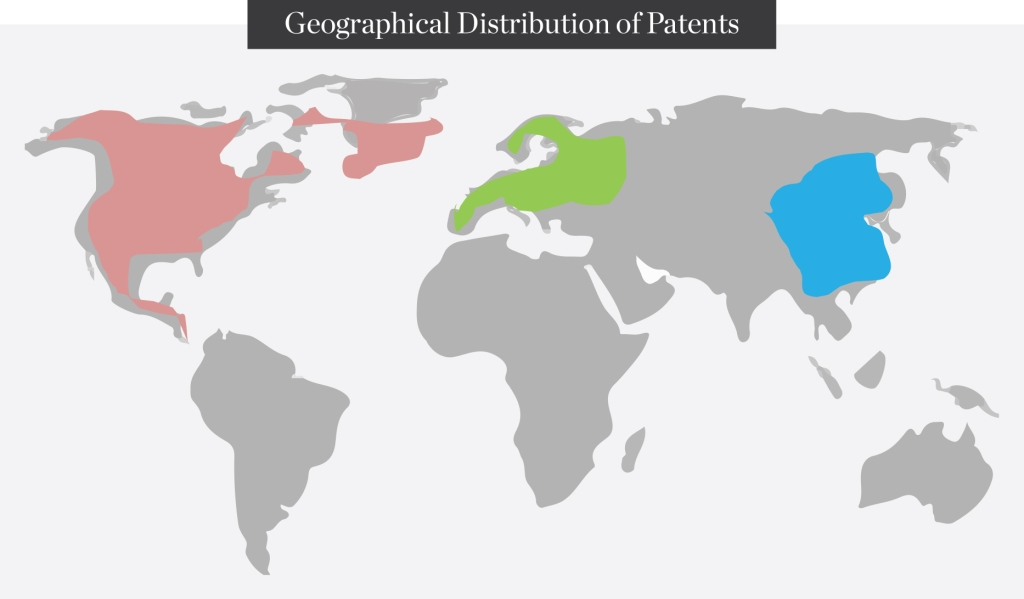Geographical-Distribution-of-Patents
