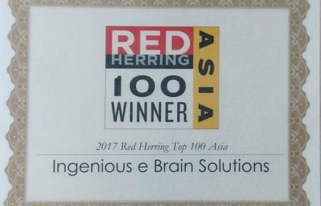IEBS - Red Herring Award Winner