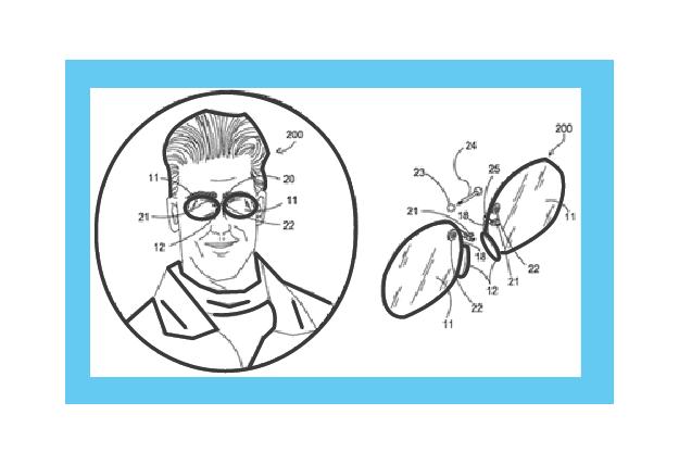 Pierced Glasses - Ingenious e-Brain