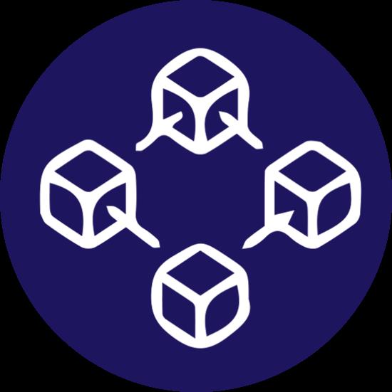 Blockchain Icon - Ingenious e-Brain
