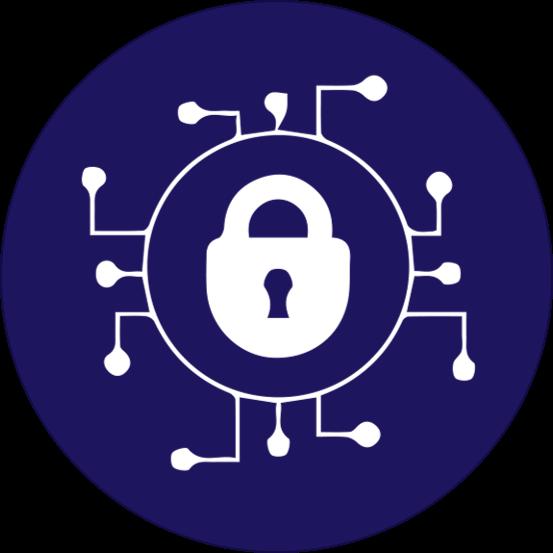 Network Security Icon - Ingenious e-Brain