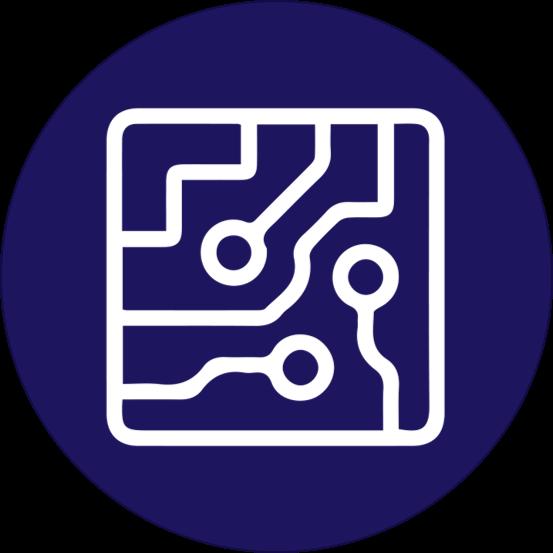 Semiconductor Icon - Ingenious e-Brain